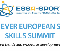 The first ever European Skills Summit for sport and physical activity