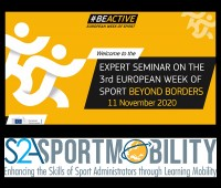 EOSE contributes to the European Week of Sport Beyond Borders