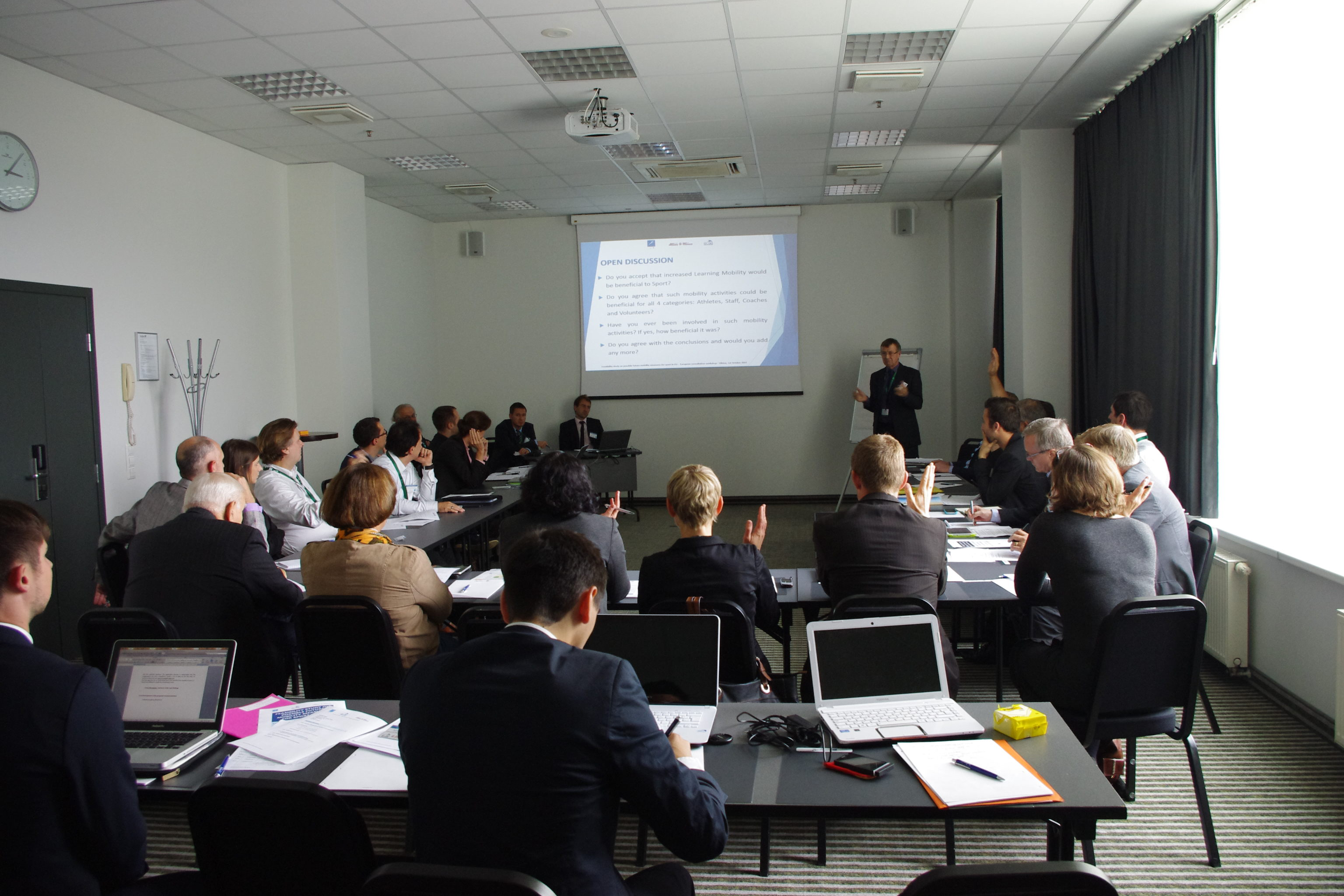 European Consultation workshop  on Mobility in Sport
