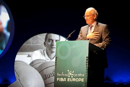 EOSE attended the opening of FIBA Europe Techno Centre