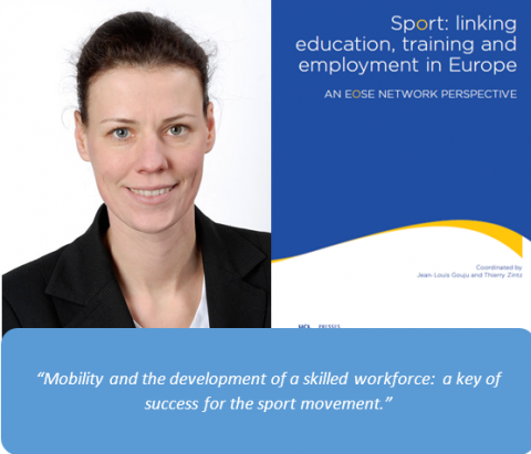 Special foreword to EOSE book – Sport Movement