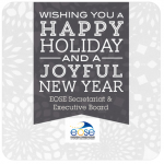 Season's greetings from EOSE Secretariat