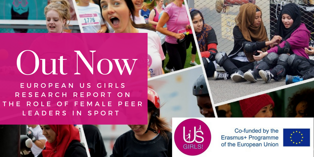 European Us Girls shares new insights on female peer leadership in sport
