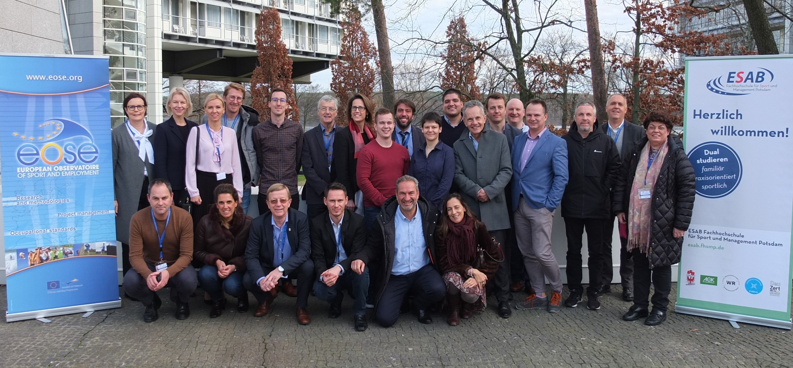 EOSE Members gathered to develop the priorities of the organisation