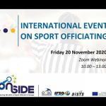 International event on sport officiating