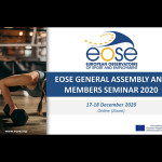EOSE Members gathered to debate key issues for the sport sector in EU